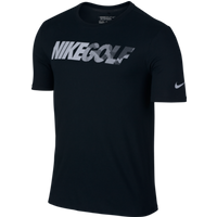 Nike Golf Graphic Tee Black Reflective Silver Medium