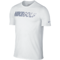 Nike Golf Graphic Tee WhiteReflective Silver Medium