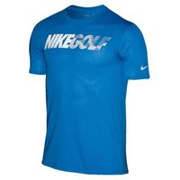 Nike Golf Graphic Tee Photo Blue Reflective Silver X Large