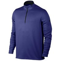 Nike Dri Fit 12 Zip Top Deep Night Medium