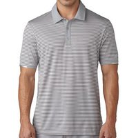 Climachill Tonal Stripe Golf Polo Shirt Dark Slate Mens Small Dark Slate