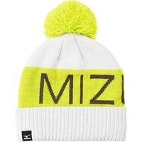 Mizuno Bobble Hat - White / Lime Green
