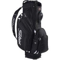Titleist Lightweight Cart Bag - Black / White