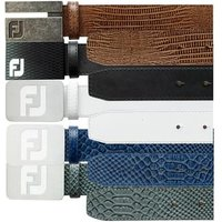 FootJoy Leather Belt Brown Croc