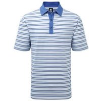 FootJoy Lisle Multi Stripe White Frost Grey Small
