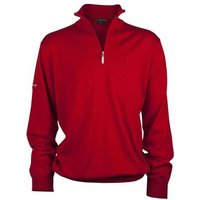 Greg Norman Unlined Zip Neck Merino Red Medium