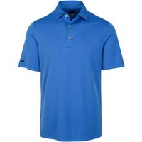 Greg Norman Performance Micro Jacquard Maritime Blue Small