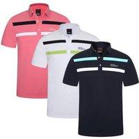 Ace Tour Golf Poloshirt Medium Navy