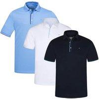 Ivo Pin Golf Polo Shirt Navy Medium