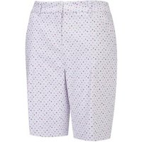 Beatrix Short Ladies 10 White Multi