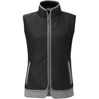 Ping Collection Erin Quilted Gilet Black P27