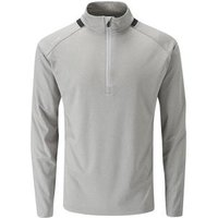 Largo Mid Layer Mens Large Silver Marl