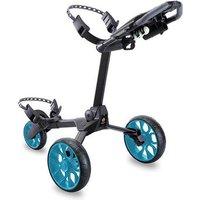 Stewart Golf R1-S Push Trolley - Black / Blue
