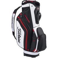 Titleist Lightweight Cart Bag - Black / White / Red