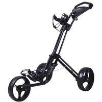 Powakaddy TwinLine 4 Lite Push Trolley - Black