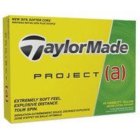 TaylorMade Project a Yellow Balls 1 Dozen