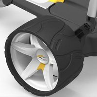 PowaKaddy Wide Wheel White Pair