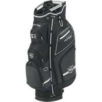 Wilson Staff Nexus III Cart Bag 2017 - Black / Silver