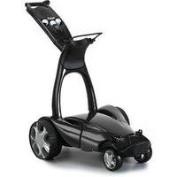 Stewart Golf X9 Follow Trolley Metallic Black