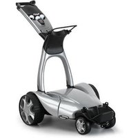 Stewart Golf X9 Follow Trolley Metallic Silver