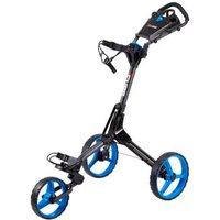 Cube Golf Push Trolley - Charcoal/Blue
