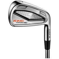 Cobra Golf King Forged Tec Irons Right KBS C Taper Lite 110 Stiff 4 PW