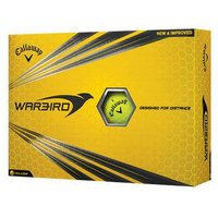 Warbird Golf Balls 2017 1 Dozen Yellow