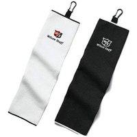 Wilson Tri Fold Golf Towel White