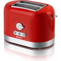 Swan 2 Slice Red Toaster - Red 323826