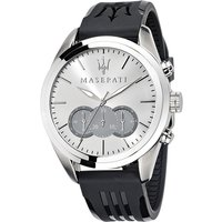 Maserati Gents Traguardo Chronograph Watch with Silicone Strap 370568