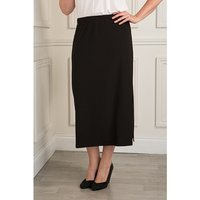 Reflections Skirt with Side Slit 372709