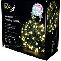 Look No Plug Indoor /Outdoor Use Multi Action LED Lights x 300 384547