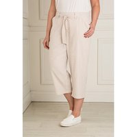 Emelia Seersucker Crop Trouser 384711