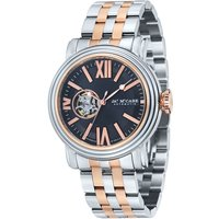 James McCabe Victory Gents Open Heart Automatic Japanese Movement with Stainless Steel Bracelet Strap 387173