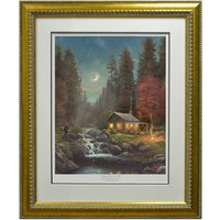 Thomas Kinkade Away From It All Limited Edition Framed Print 387503