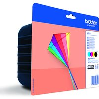 Brother Printer Cartridge Value Pack - Black, Magenta, Cyan & Yellow LC223 399568