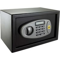 Yale Black 8.6L Electronic Compact Safe with LCD Display - Y-SS0000NFP 404673