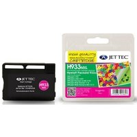 HP933XL Magenta Remanufactured Ink Cartridge by JetTec  H933MXL