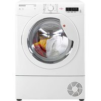 Hoover BHLC8LG 8kg Condenser Tumble Dryer in White Sensor B Energy