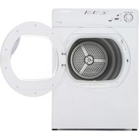 Candy GCV581NC 8kg Vented Tumble Dryer in White Sensor Drying
