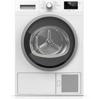 Blomberg LTS2832W 8kg Condenser Dryer in White Sensor A Heat Pump