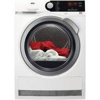 AEG T7DEE832R 8kg Heat Pump Condensor Dryer in White Sensor