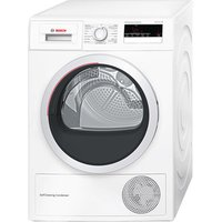 Bosch WTM85250GB 8kg Heat Pump Tumble Dryer in White Sensor A Rated