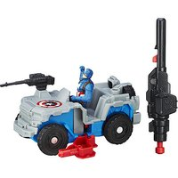 Marvel Captain America: Civil War 6cm Combat Racers - Captain America with Blast Action 4X4