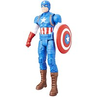 Marvel Titan Hero Series Avengers Figures - Captain America