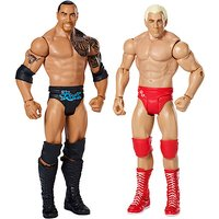 WWE Wrestlemania 2 pack - Rick Flair vs The Rock