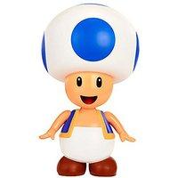 World of Nintendo 10cm Blue Toad Figure