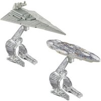 Hot Wheels Star Wars Die Cast Vehicle 2 Pack - Star Destroyer Vs. Mon Calamari Cruiser