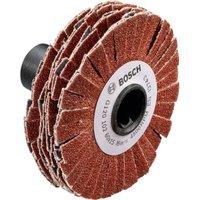 Bosch SW Lamella Abrasive Flap Wheel for PRR 250 ES 60mm 15mm 80g
