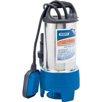 Draper SWP210DWSS Stainless Steel Submersible Dirty Water Pump 240v